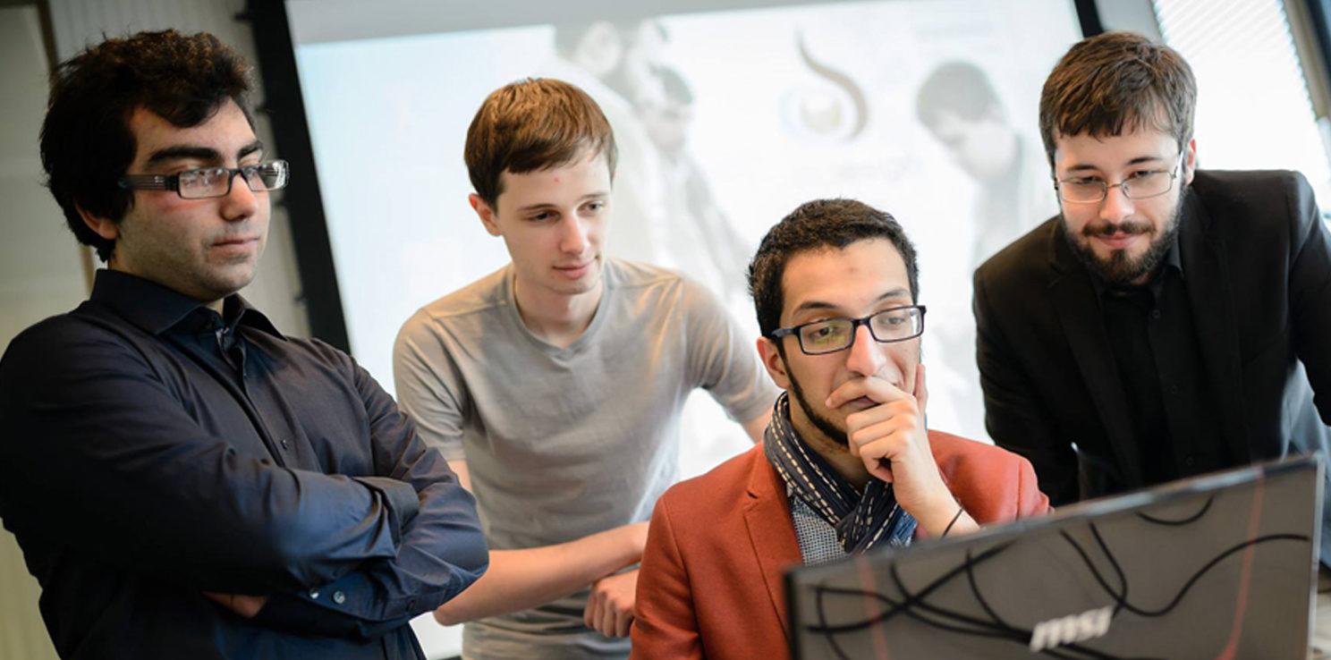 Equipe handesign - Projets etudiants - Efrei Paris - Ecole d'ingénieur informatique