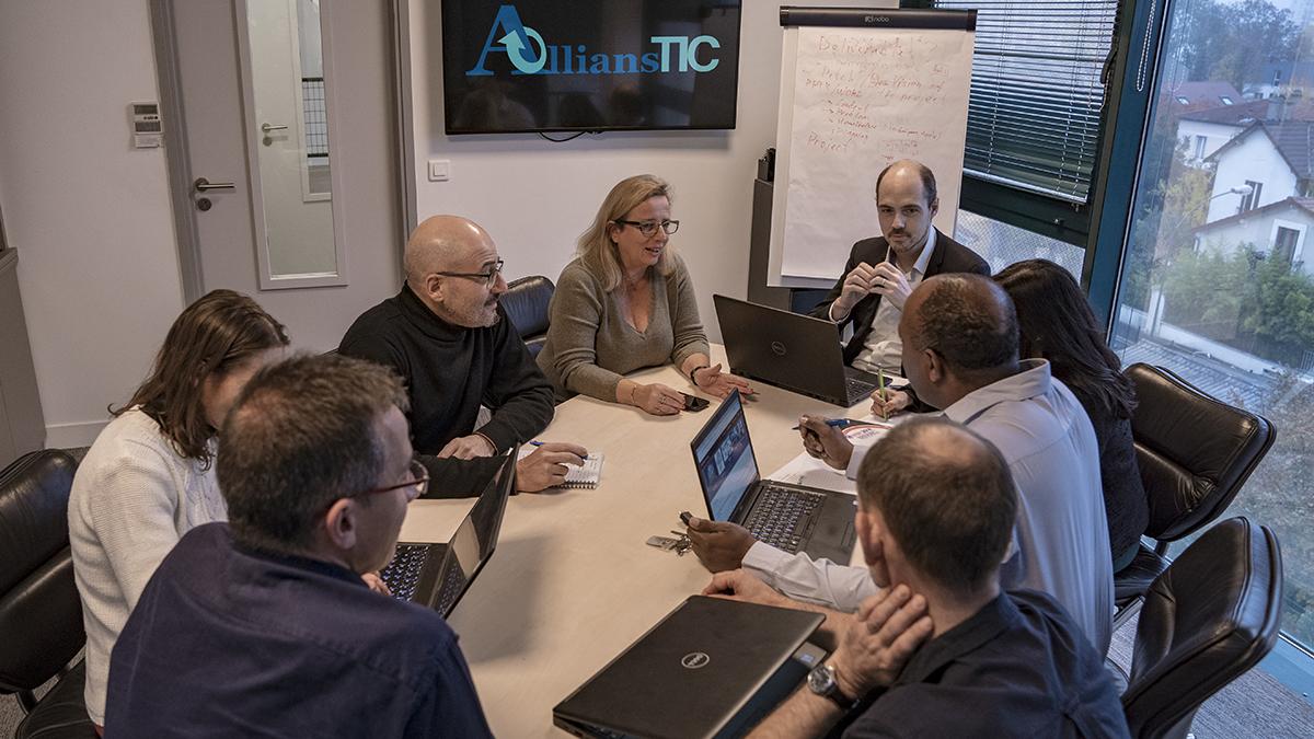 Projets de recherche - Equipe - AllianSTIC - Laboratoire de Recherche - Efrei Paris - Ecole d'ingénieurs informatique