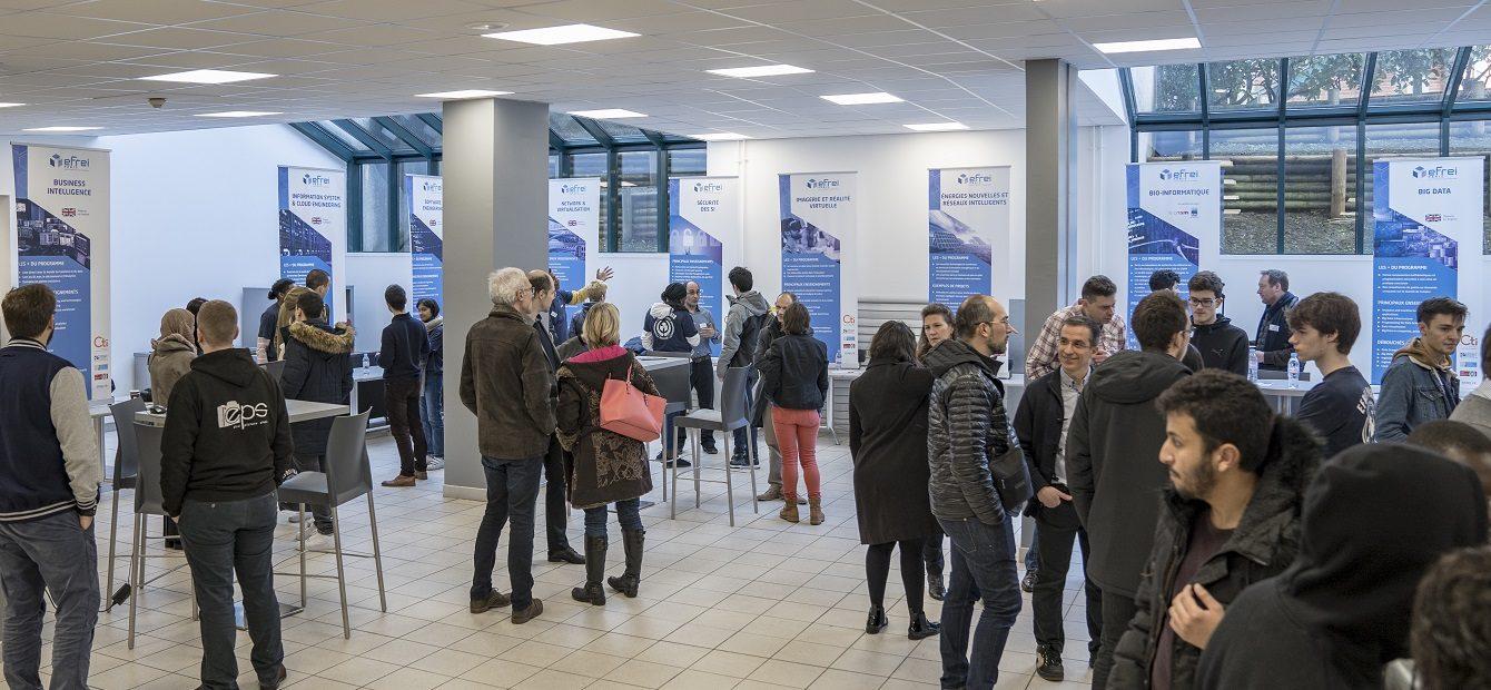 Journée portes ouvertes - Efrei Paris - Ecole d'ingénieurs informatique