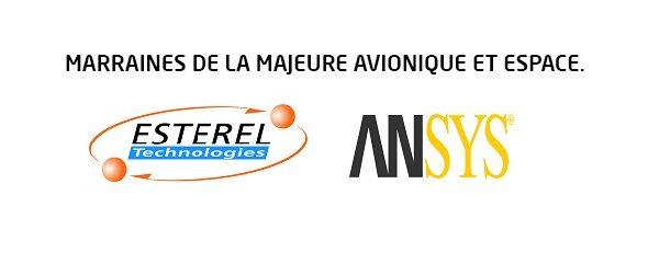 Marraine de majeure - Esterel - Ansys - Avionique et espace - Efrei Paris - Ecole d'ingénieur informatique