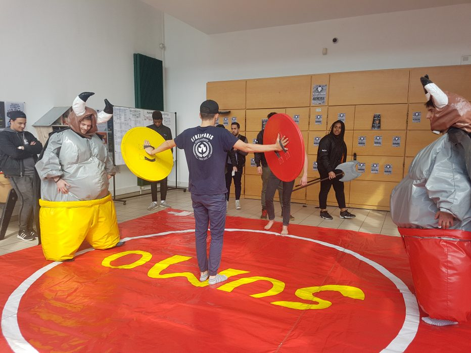 Semaine BDE - Jeux Sumo - Efrei Paris - Ecole d'ingenieurs informatique