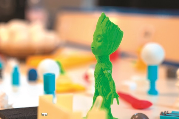 Efrei 3D - Associations technologiques - Figurines 3D - Efrei Paris - Ecole ingénieur informatique