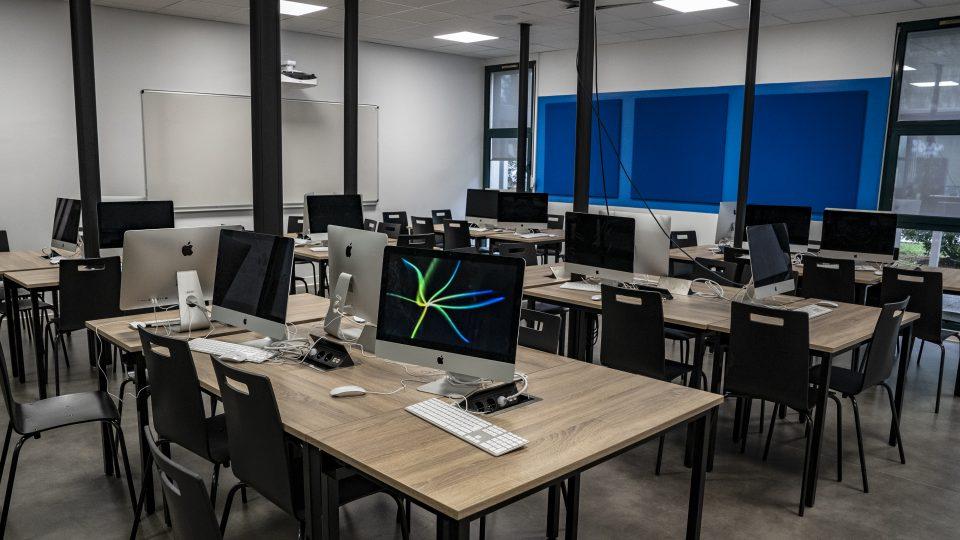 Salle - mac - Efrei Paris - Ecole d'ingénieurs informatique