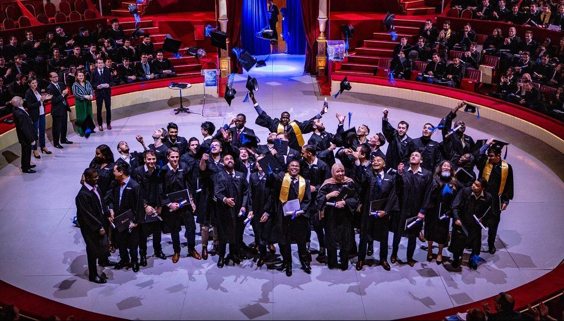 Remise des diplomes - Efrei Paris - Ecole d'ingenieurs informatique