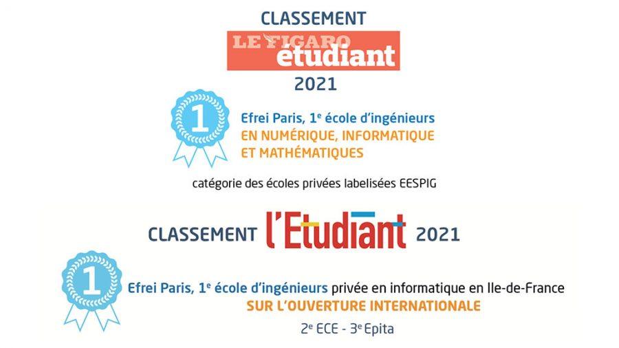 Classements Efrei Paris