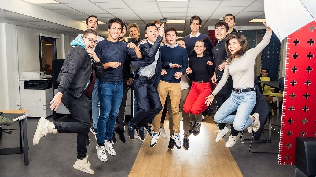 Etudiants Efrei Paris