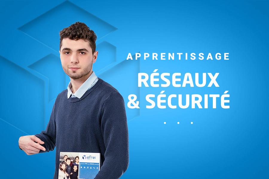Apprentissage Réseaux sécurité