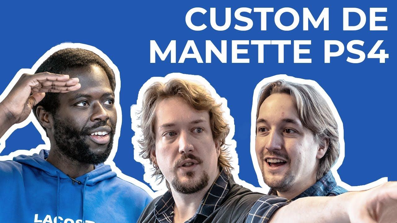 Custom Manette PS4