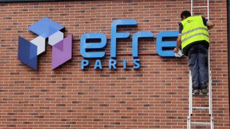 Devanture Efrei Paris