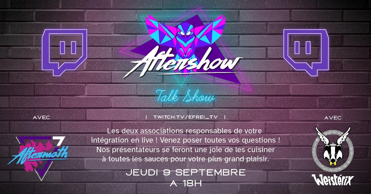 Aftershow BDE Efrei Paris