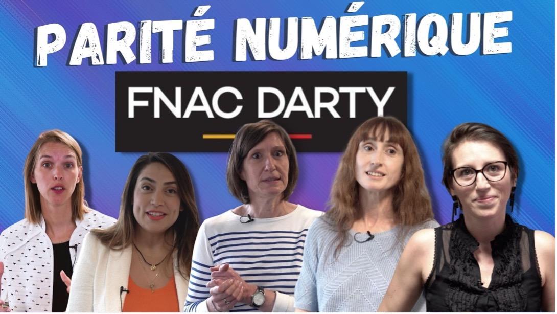 Parité numérique Fnac Darty